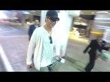 Chris Pine Rocks A Boho Look As He Arrives In LA