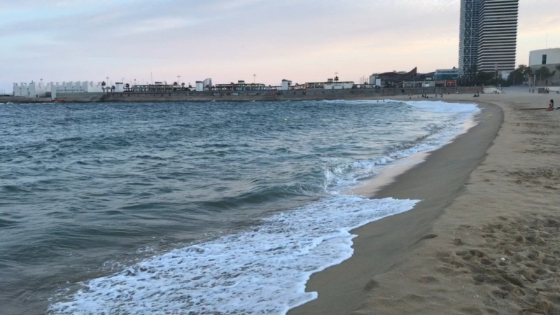 Пляж Барселона 2018