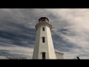 Movi CinemaRobot has made it to Nova Scotia with @oratefratres to check out Peggys Point Lighthouse! Shot on iPhone X with @Mom
