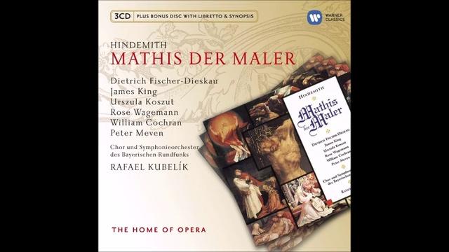Hindemith Mathis der Mahler Tableau 1 complet Scene 1 à 4