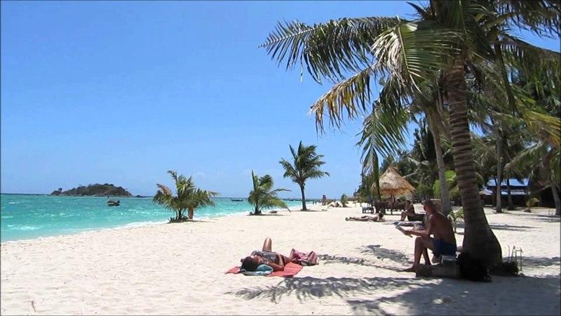 Нереально красивый пляж Санрайз на Ко Липе