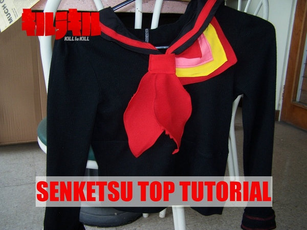 DIY Ryuko Matoi Cosplay: Senketsu Top Tutorial [US Ver.]
