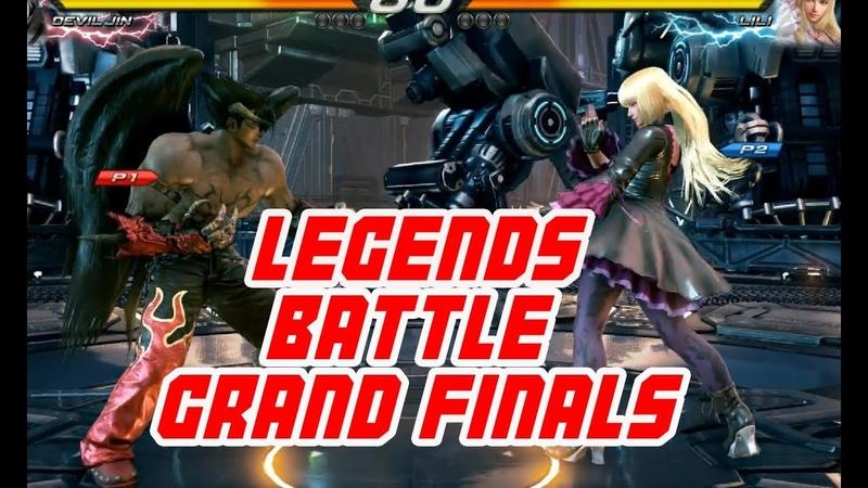 KNEE (Lili) vs UYU QUDANS (Devil Jin) ➤ Grand Finals ➤Tokyo Tekken Masters ➤ Tekken 7