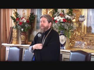 Встреча с митрополитом Тихоном (Шевкуновым). Псково-Печерский монастырь (2018)
