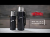 16 oz Vacuum Insulated Compact Bottle and 40 oz Vacuum Insulated Beverage Bottle