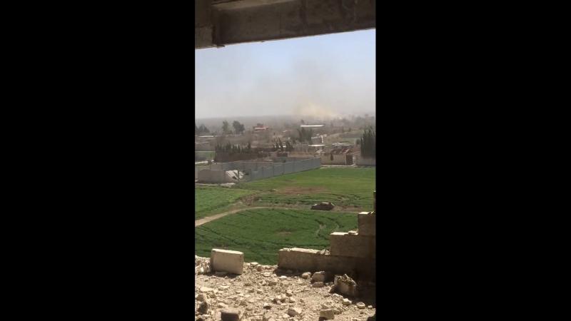 Операции освобождения Хамурии в Восточной аль-Гуте
