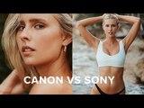 Sony A7 II VS Canon 5D III Swimwear Photoshoot Behind the Scenes
