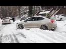 Subaru WRX STI зима