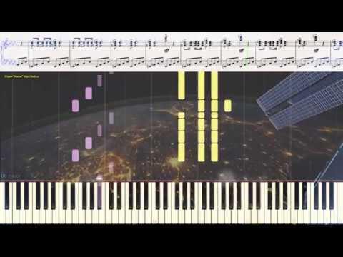 Время вперёд Г Свиридов Ноты и Видеоурок для фортепиано баяна piano cover