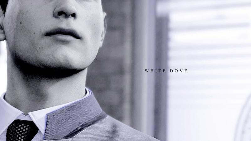 Detroit Become Human Connor White Dove