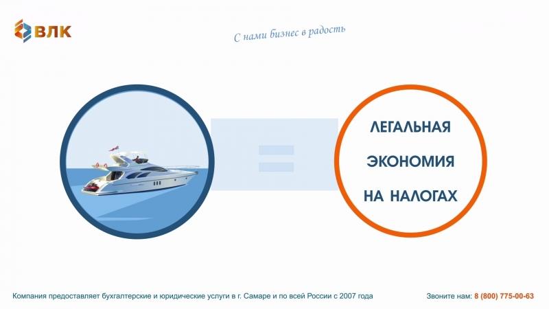 Законное снижение налогов с ВЛК. Своя яхта - это позволительная роскошь.