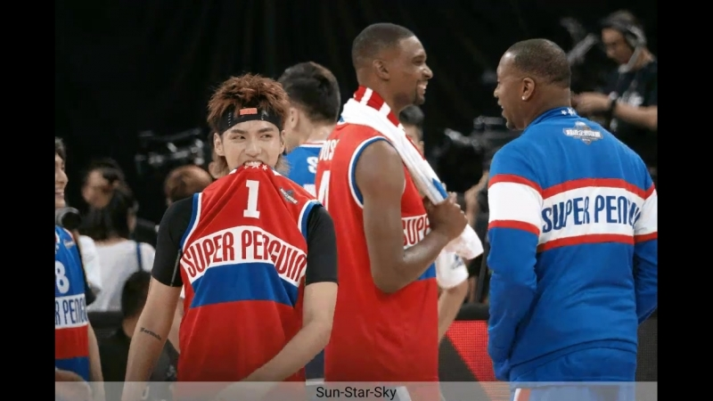 180915 Kris Wu @ Tencent All-Star Basketball Game