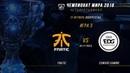 FNC vs EDG ЧМ 2018 Четвертьфинал Игра 3