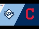 AL / 31.08.18 / TB Rays @ CLE Indians (1/3)
