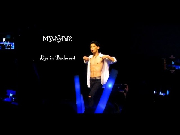 Seyong Solo MyName Live in Bucharest Romania