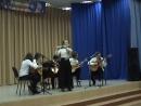 Фестиваль Русской музыки 18 апр.2018 года, Аня, Маша, Рома, Лёша, Настя - гитары, Маша -флейта