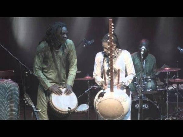 Kora and Djimbe conversation - Sona Jobarteh and Mamadou Sarr solo - Brave Festival, Poland 2015