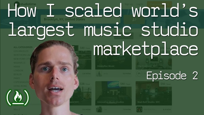 How I scaled the world's largest music studio marketplace (part 2 of the Studiotime story)