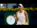 Elena Vesnina vs Angelique Kerber Indian Wells 3R LIVE