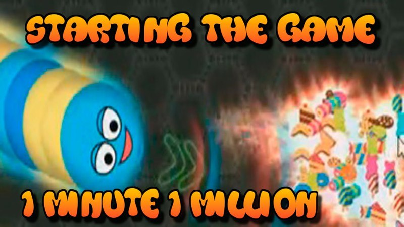 Starting the game 1 minute 1 million wormate io