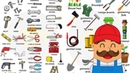 Learn 300 Household Items in 30 Minutes Tools Equipment Home Appliances Vocabulary for Kids