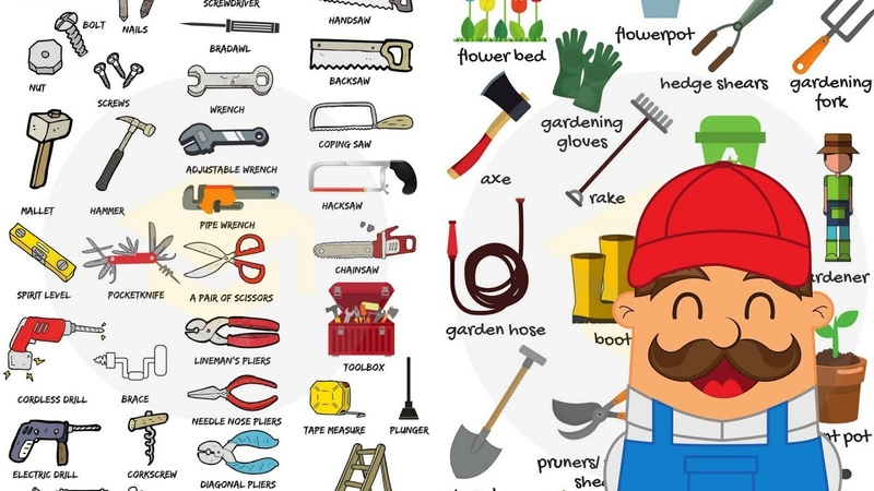 Learn 300 Household Items in 30 Minutes - Tools, Equipment Home Appliances Vocabulary for Kids