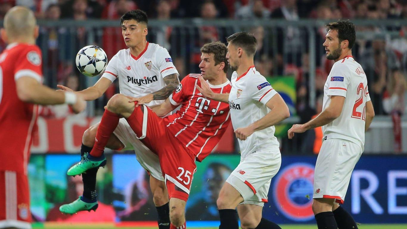 213.  Bayern München - Sevilla FC 0:0