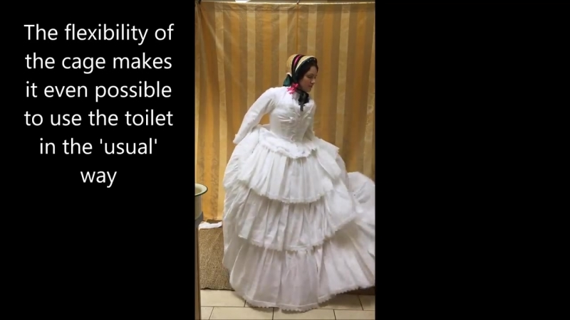 Викторианская мода как они ходили в туалет
