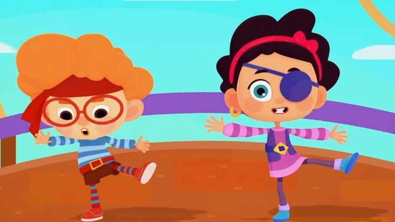 Четверо в кубе - Кубо пираты - Серия 5 - Современные российские мультфильмы для детей