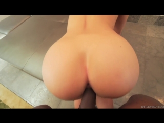 [julesjordan] candice dare's bubble butt attracts big black cocks