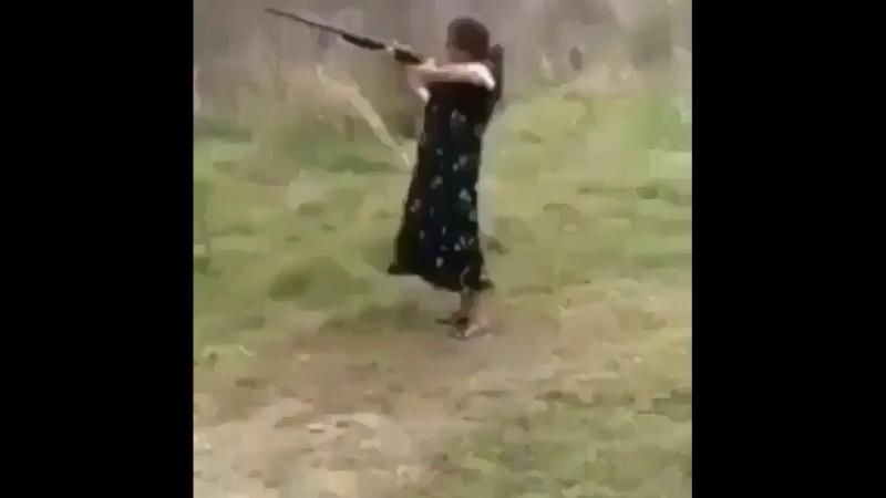 Выстрелила