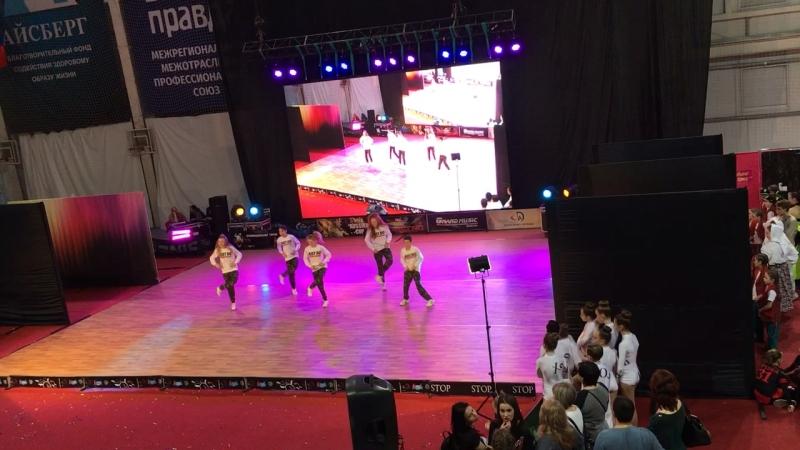 DS Real Team/ hip hop/ choreographer Tararukhina Elena/ Танцы.ru 2018