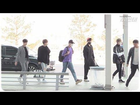 [liveen TV] 비원에이포(B1A4), 이른 아침 화사한 굿모닝 꽃남 (공항패션) 인천공항_180427