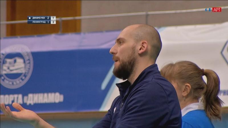 Волейбол Женщины чемпионат России Динамо-Москва - Ленинградка 11_02_2018