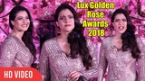 Gorgeous Kajol Devgan at LUX Golden Rose Awards 2018 | Red Carpet