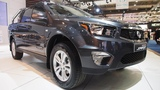 SsangYong Actyon Sports e-XDi220 Diesel MT 4WD Quartz  -  Exterior and Interior Lookaround