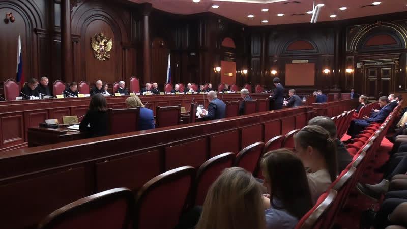 По следам выборов: в Конституционном суде РФ проверили защиту избирательных прав. ФАН-ТВ