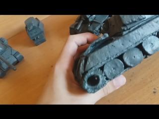 расстрелянные ИС и КВ-1