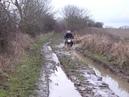 SLR 650 through mud