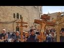 Срби у Јерусалиму Испред уласка у храм Васкрсења Христовог