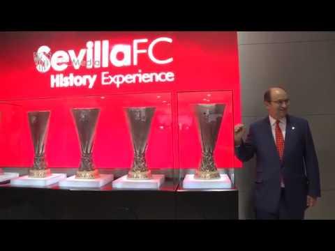 El Sevilla FC inaugura el museo en el Ramón Sánchez-Pizjuán