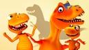 Мультфильмы про Поезд Динозавров. Приключения Бадди и Тайни!