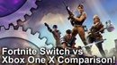 Fortnite Switch vs Xbox One X Graphics Comparison - How does Nintendos handheld hold up