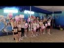Спортивный лагерь Академии Танца, часть 2. Кросс, плаванье, эстафеты и у Вики снова нето парня...