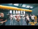 DANCE WORKSHOP 28/10/18 AFROBEAT DANCEHALL LADY STYLE REGGAETON JAZZ FUNK