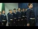 Присяга морских кадетов.