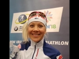 She won the Overall World Cup for the third time in her career - and by the margin of just three points. We caught up with @Biat