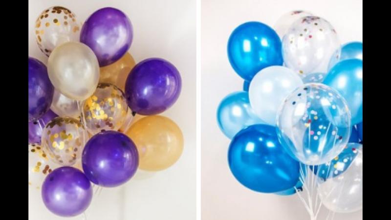 20 гелиевых шаров