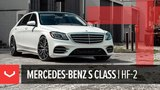Vossen Hybrid Forged HF-2 Wheel Mercedes-Benz S Class Brushed Gloss Black