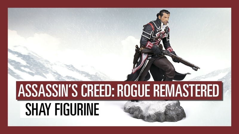 Merchandise - Assassin's Creed Rogue (Remastered): Shay Patrick Cormac The Renegade Figurine